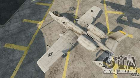 A-10A Thunderbolt II for GTA 4 right view