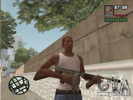 Mafia II Full Weapons Pack for GTA San Andreas seventh screenshot