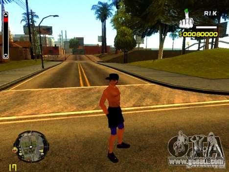 Beach people for GTA San Andreas forth screenshot