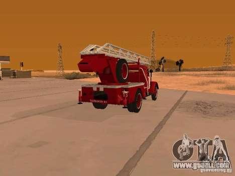 GAZ-51 ALG-17 for GTA San Andreas back left view