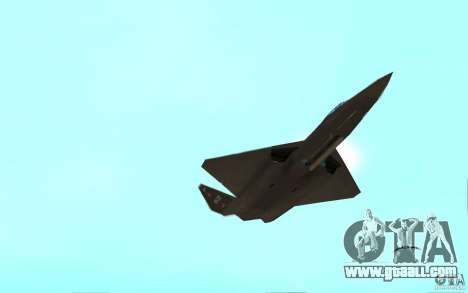 YF-23 for GTA San Andreas right view