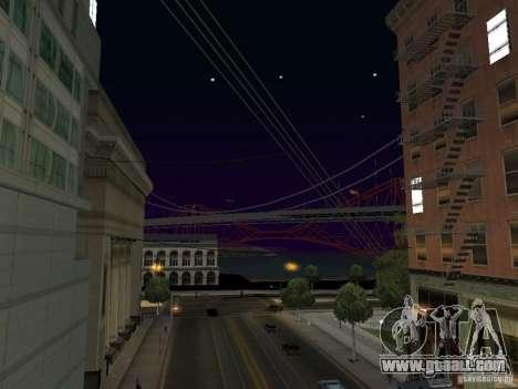 New Sky Vice City for GTA San Andreas second screenshot