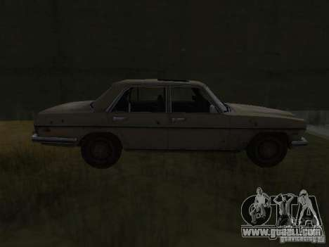 Mercedes-Benz of Call of Duty 4 for GTA San Andreas left view