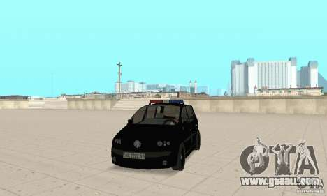 Volkswagen Touran 2006 Police for GTA San Andreas