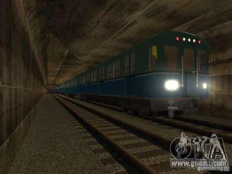 Metro e for GTA San Andreas right view
