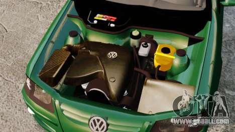 Volkswagen Gol G4 Edit for GTA 4 back view