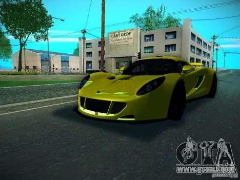 Hennessey Venom GT Spyder for GTA San Andreas