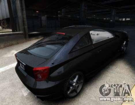 Toyota Celica for GTA 4 right view