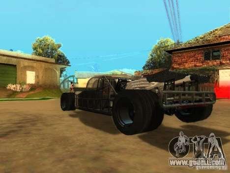 Fast & Furious 6 Flipper Car for GTA San Andreas bottom view