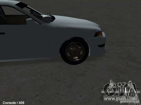 Toyota Mark II 100 1JZ-GTE for GTA San Andreas right view