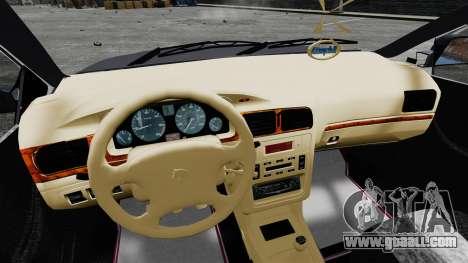 Iran Khodro Samand LX for GTA 4 back view