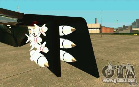 Aliens vs. Predator Marine Drobship for GTA San Andreas inner view