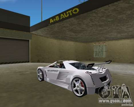 Cadillac Cien Shark Dream TUNING for GTA Vice City left view