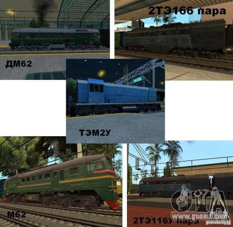 RAILROAD modification III for GTA San Andreas