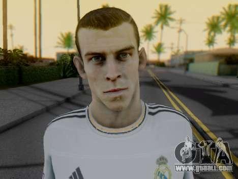 Gareth Bale for GTA San Andreas forth screenshot