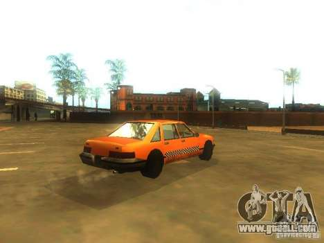 Crazy Taxi for GTA San Andreas right view