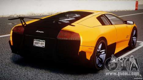 Lamborghini Murcielago LP670-4 SuperVeloce for GTA 4 interior