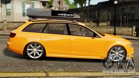 Audi A6 Avant Stanced 2012 v2.0 for GTA 4 left view