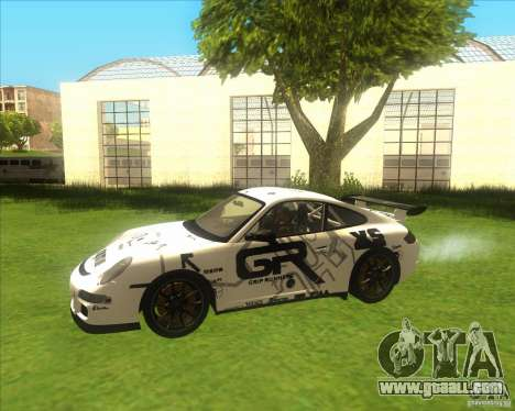 Porsche 997 GT3 RS for GTA San Andreas side view