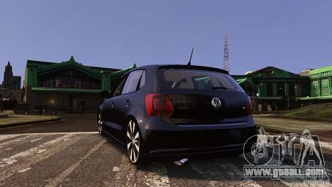 Volkswagen Polo for GTA 4 right view