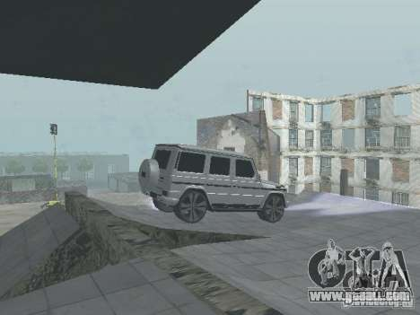 Mercedes-Benz G500 Kromma 1480 for GTA San Andreas right view