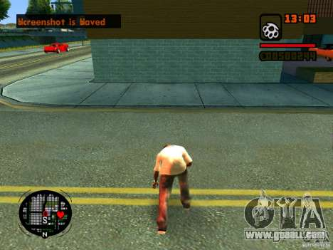GTA IV Animation in San Andreas for GTA San Andreas eleventh screenshot