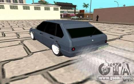 VAZ 2109 v. 2 for GTA San Andreas back left view