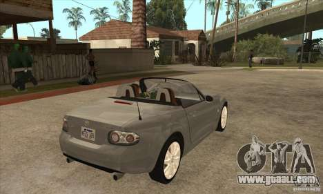 Mazda MX-5 2007 for GTA San Andreas right view