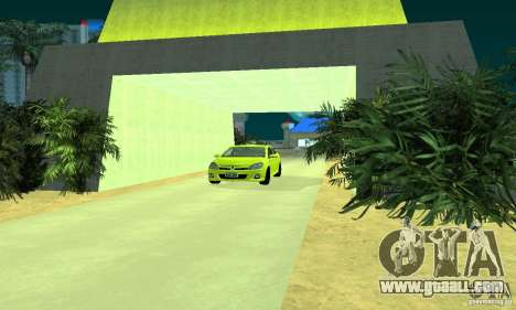 Opel Astra GTS for GTA San Andreas back left view