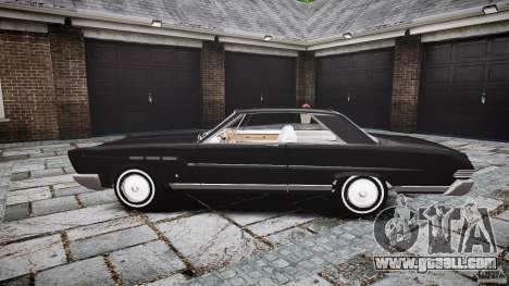 Ford Mercury Comet Caliente Sedan 1965 for GTA 4 inner view