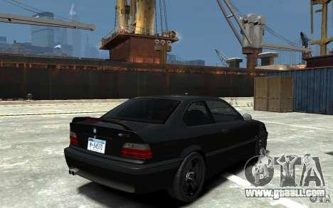 BMW M3 E36 v1.0 for GTA 4 inner view