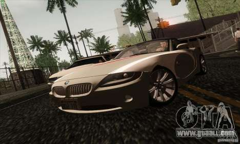 BMW Z4 for GTA San Andreas side view