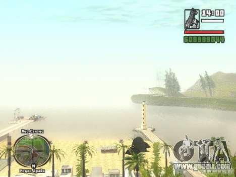 New Beach bar Verona for GTA San Andreas forth screenshot