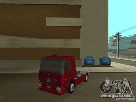 Mercedes Actros Tracteur 3241 for GTA San Andreas