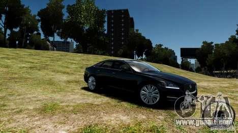 Jaguar XJ 2012 for GTA 4