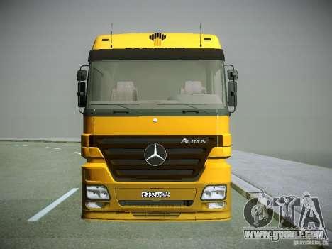 Mercedes-Benz Actros Rosneft for GTA San Andreas left view