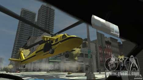 Yellow Annihilator for GTA 4 right view