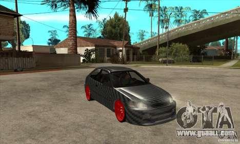Honda Civic Carbon Latvian Skin for GTA San Andreas inner view