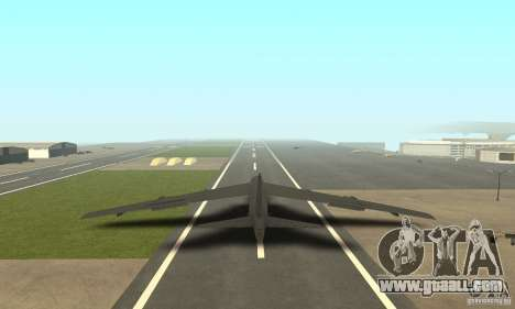 Boeing B-52H Stratofortress for GTA San Andreas left view