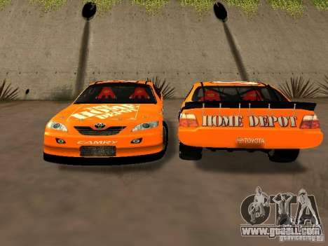 Toyota Camry Nascar Edition for GTA San Andreas side view
