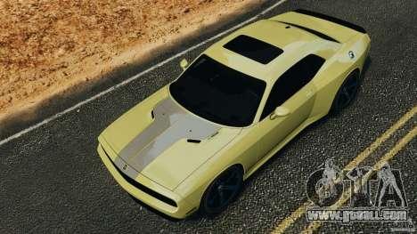 Dodge Rampage Challenger 2011 v1.0 for GTA 4 inner view