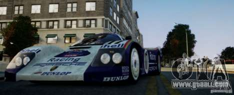 Porsche 962 for GTA 4 left view