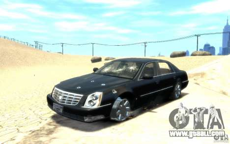 Cadillac DTS v 2.0 for GTA 4 bottom view