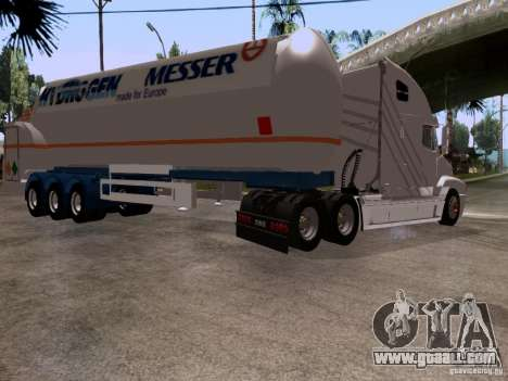 Freightliner Century for GTA San Andreas back view
