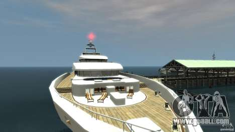 Yacht v1 for GTA 4 back left view