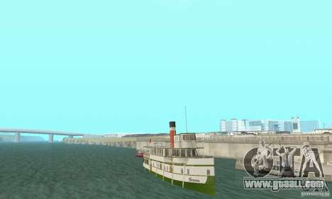 RMS Segwun Ferry for GTA San Andreas