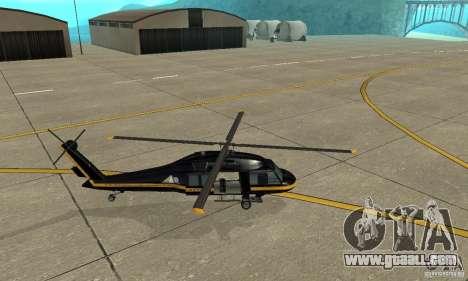 Annihilator for GTA San Andreas left view