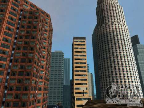 New Downtown skyscrapers texture for GTA San Andreas forth screenshot
