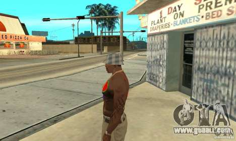 Cool tattoo at CJ-I on the body for GTA San Andreas second screenshot