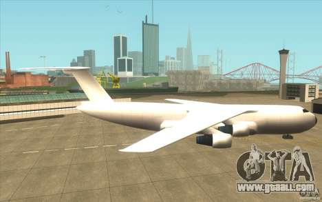 Great Andromeda for GTA San Andreas back left view